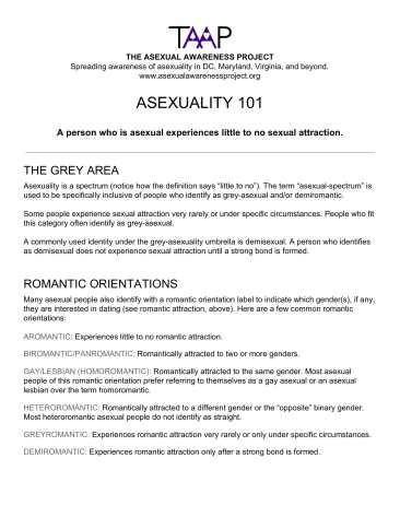 Asexuality 101 factsheet-1